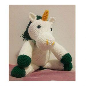Unicornio Feito Em Crochê - Amigurumi - R$ 170,00 em Mercado Livre | 300x300